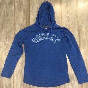 Hurley boys long sleeved hooded t-shirt